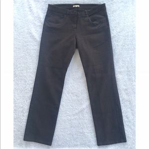 Eileen Fisher Brown Button Pants